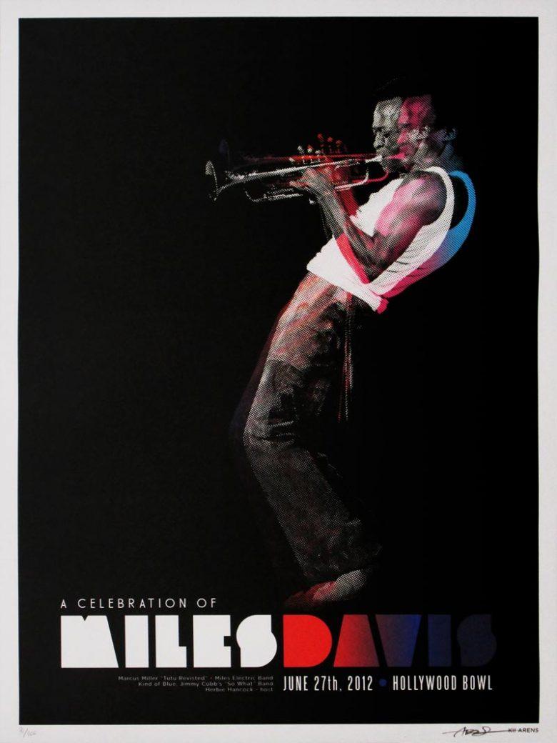 Image of A Celebration of Miles Davis - concert poster - KA00073