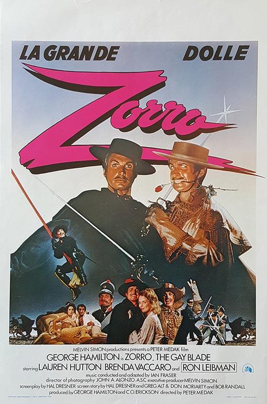 Zorro : The Gay Blade PM00140