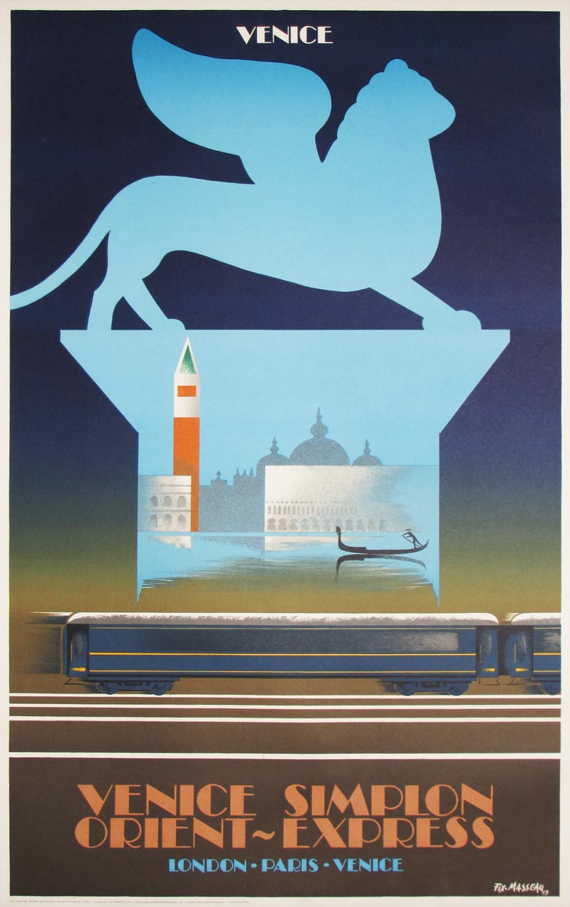 Image of Venice Simplon Orient Express - Venice - poster - WG00259