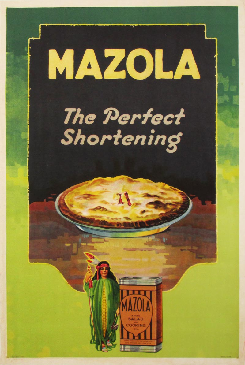 Image of Mazola - The Perfect Shortening - poster - WG00518