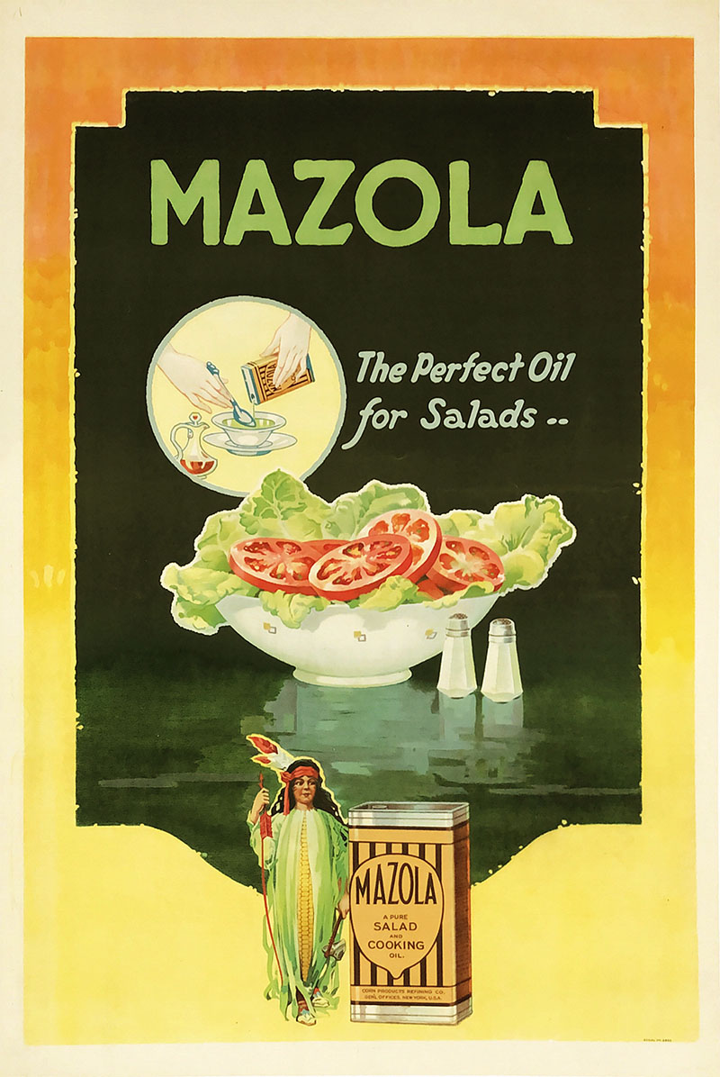 Image of Mazola - The perfect oil for salads - poster - WG00519