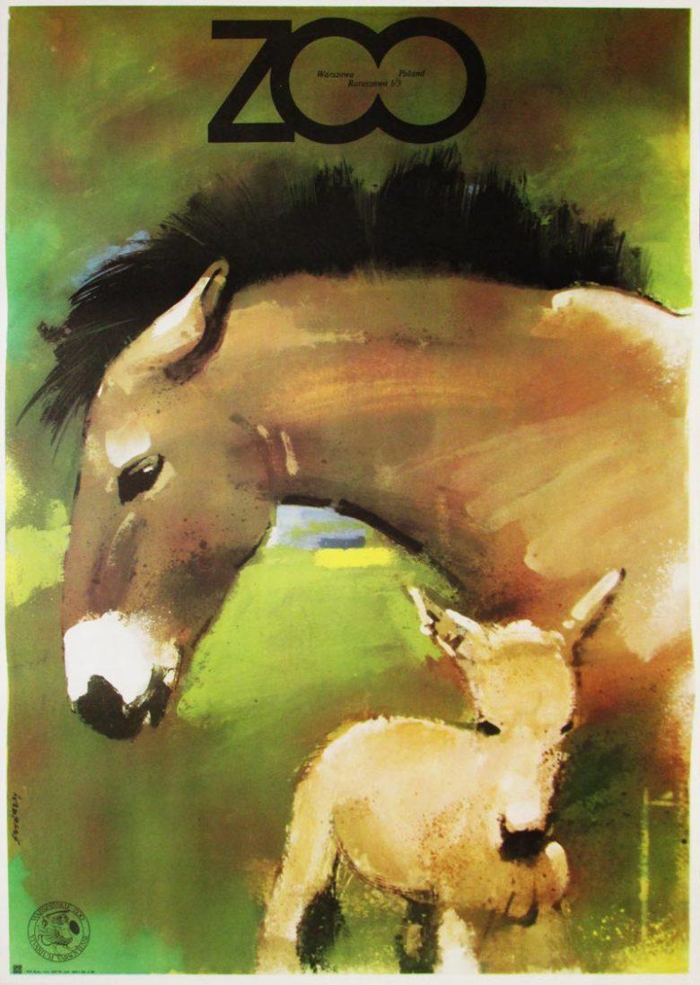 Image of Warsaw Zoo - Horses - WG00421