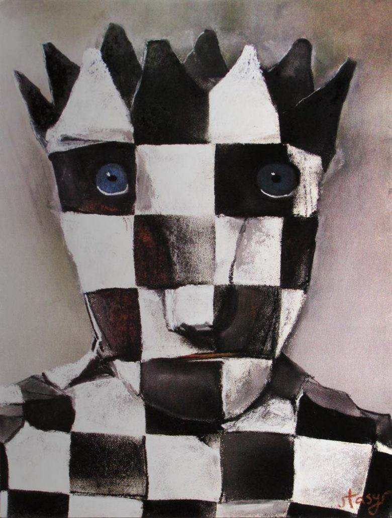 Image of Chess and Art - exhibition poster - WG00422