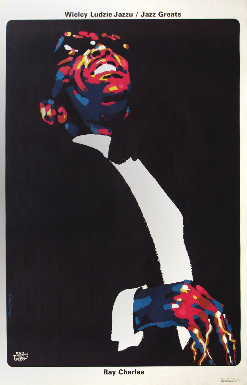 Image of Ray Charles - Jazz Greats - Polish poster - WG00423