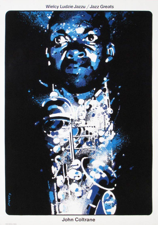 Image of John Coltrane - Jazz Greats - Polish poster - WG00424