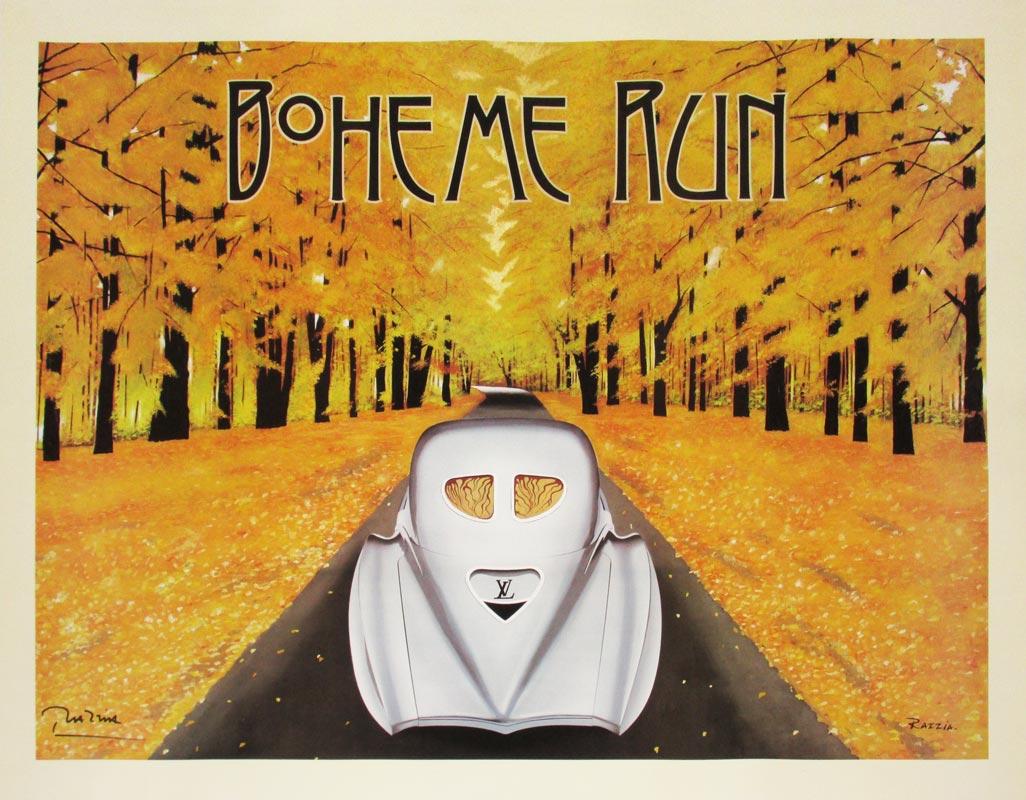 Image of Boheme Run - Razzia - Poster - WG00022