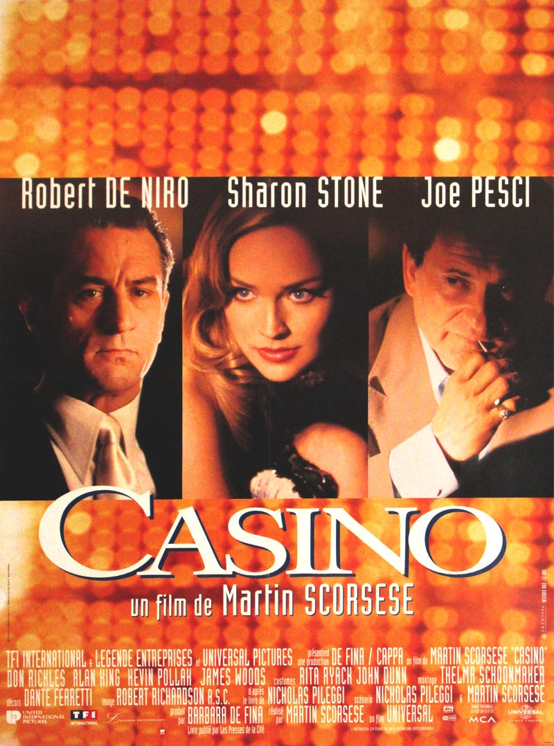 Image of Casino - French - Movie Poster - WG00590