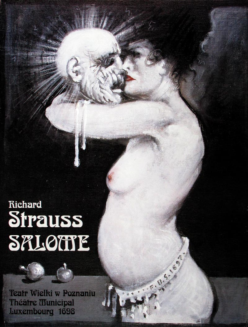 Image of Salome - Polish theater poster - MJ00044