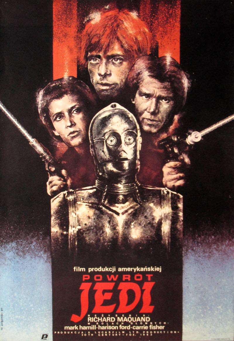 Image of Return of the Jedi - Polish poster - MJ00046