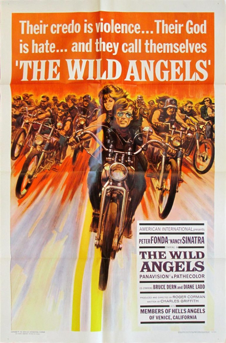 Image of The Wild Angels - U.S. one sheet - movie poster - WG00680