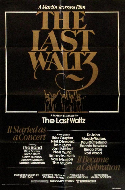 Image of The Last Waltz - U.S. one sheet - movie poster - WG00705