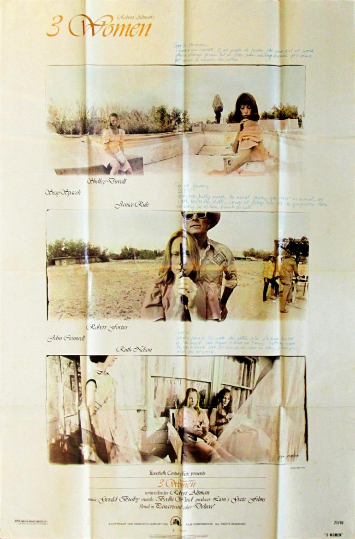 Image of 3 Women - U.S. one sheet - movie poster - WG00707