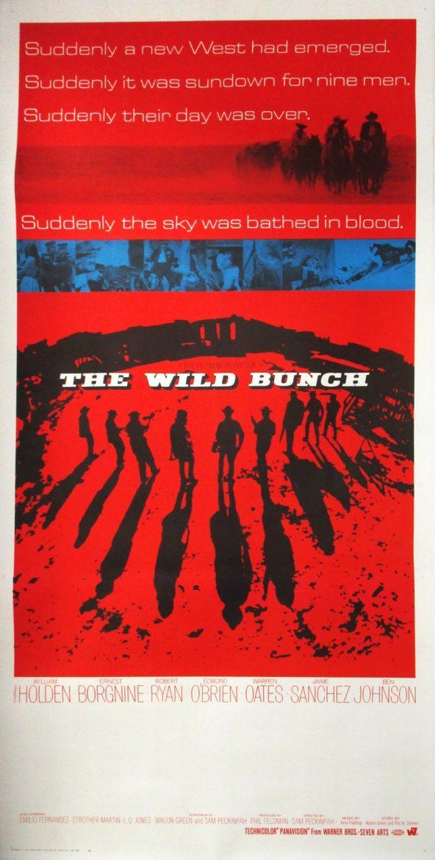 Image of The Wild Bunch - International three sheet - movie poster - WG00708