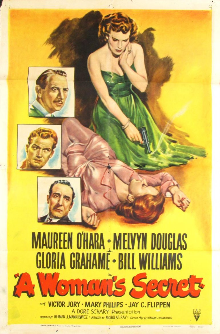 Image of A Woman's Secret - U.S. one sheet - movie poster - WG00713