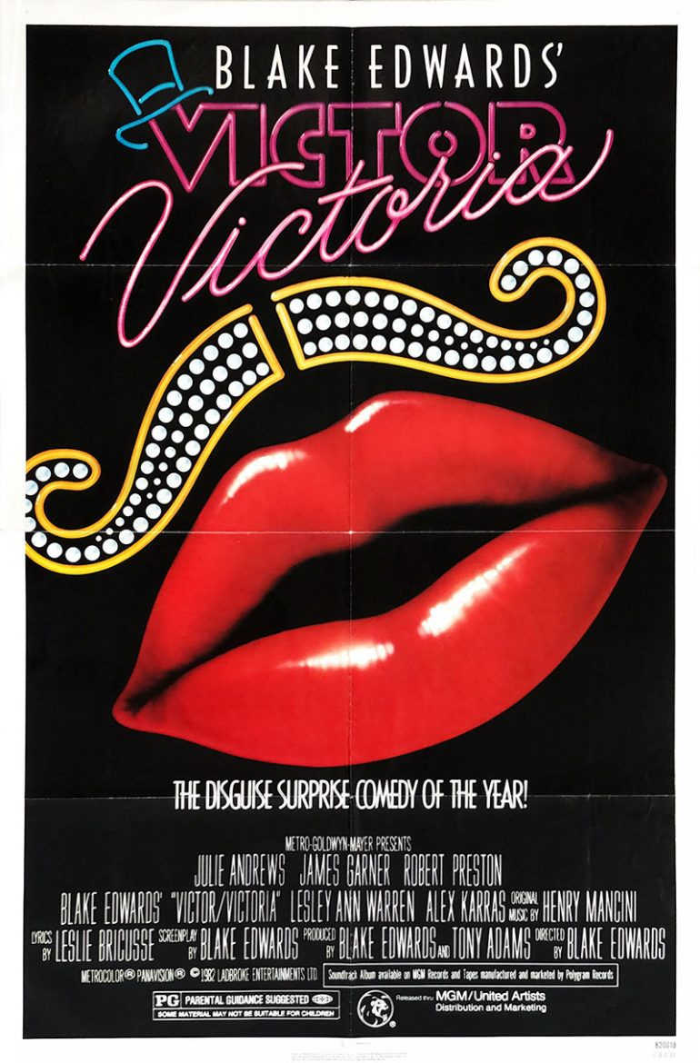 Image of Victor Victoria - U.S. one sheet - movie poster - WG00716
