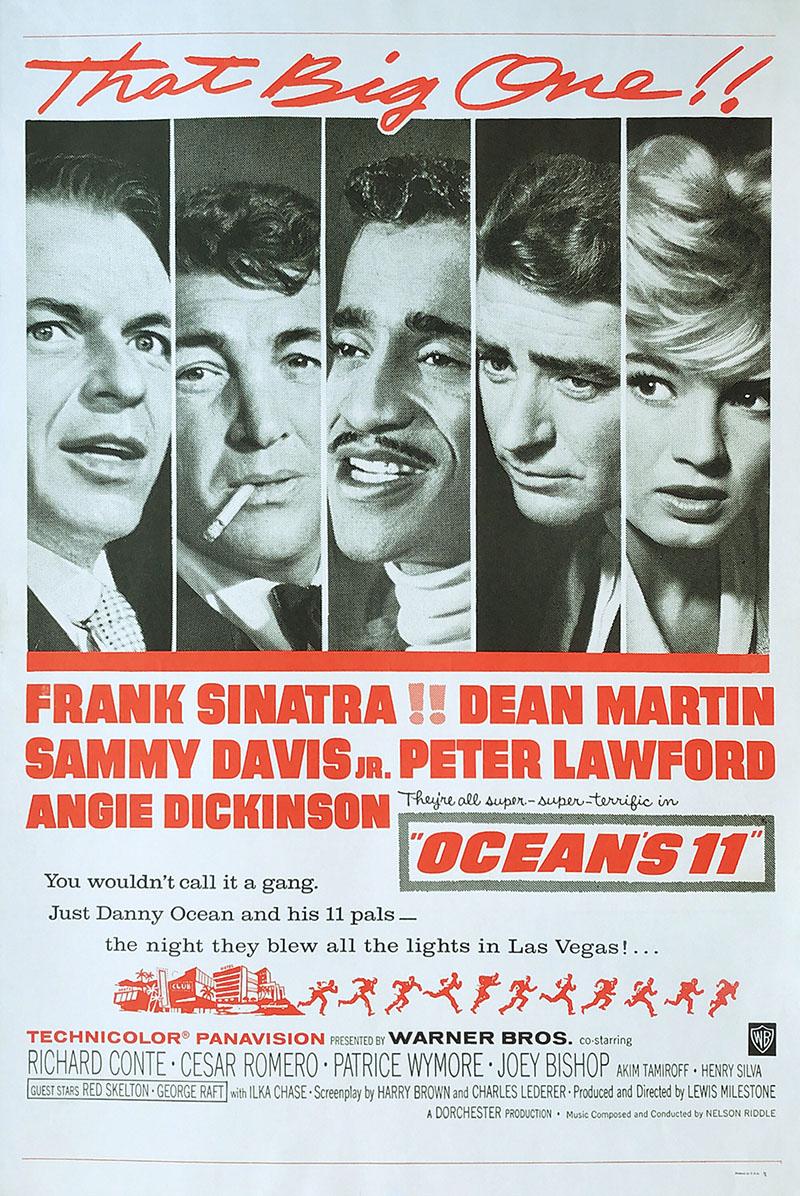Image of Oceans 11 - Movie poster - WG00747