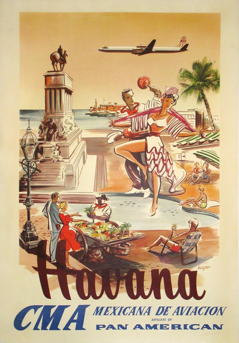 Image of Havana - CMA - Travel Poster - WG00797
