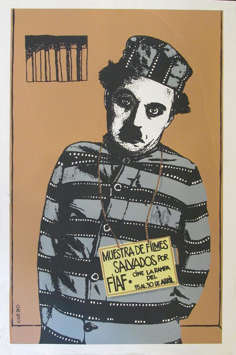 Image of Muestra de Filmes Salvados - Cuban Poster - WG00572