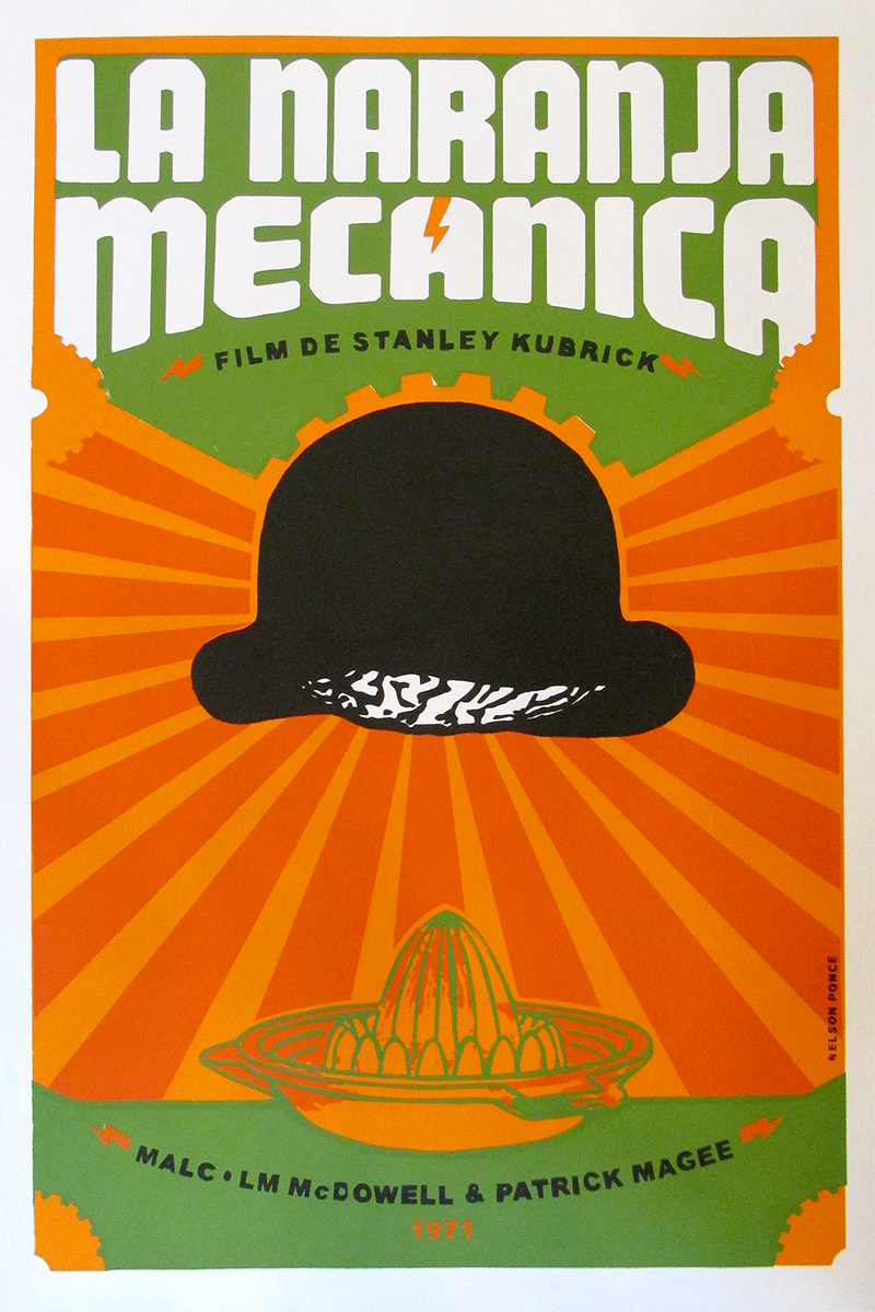 Image of A Clockwork Orange - Cuban Poster - WG00574