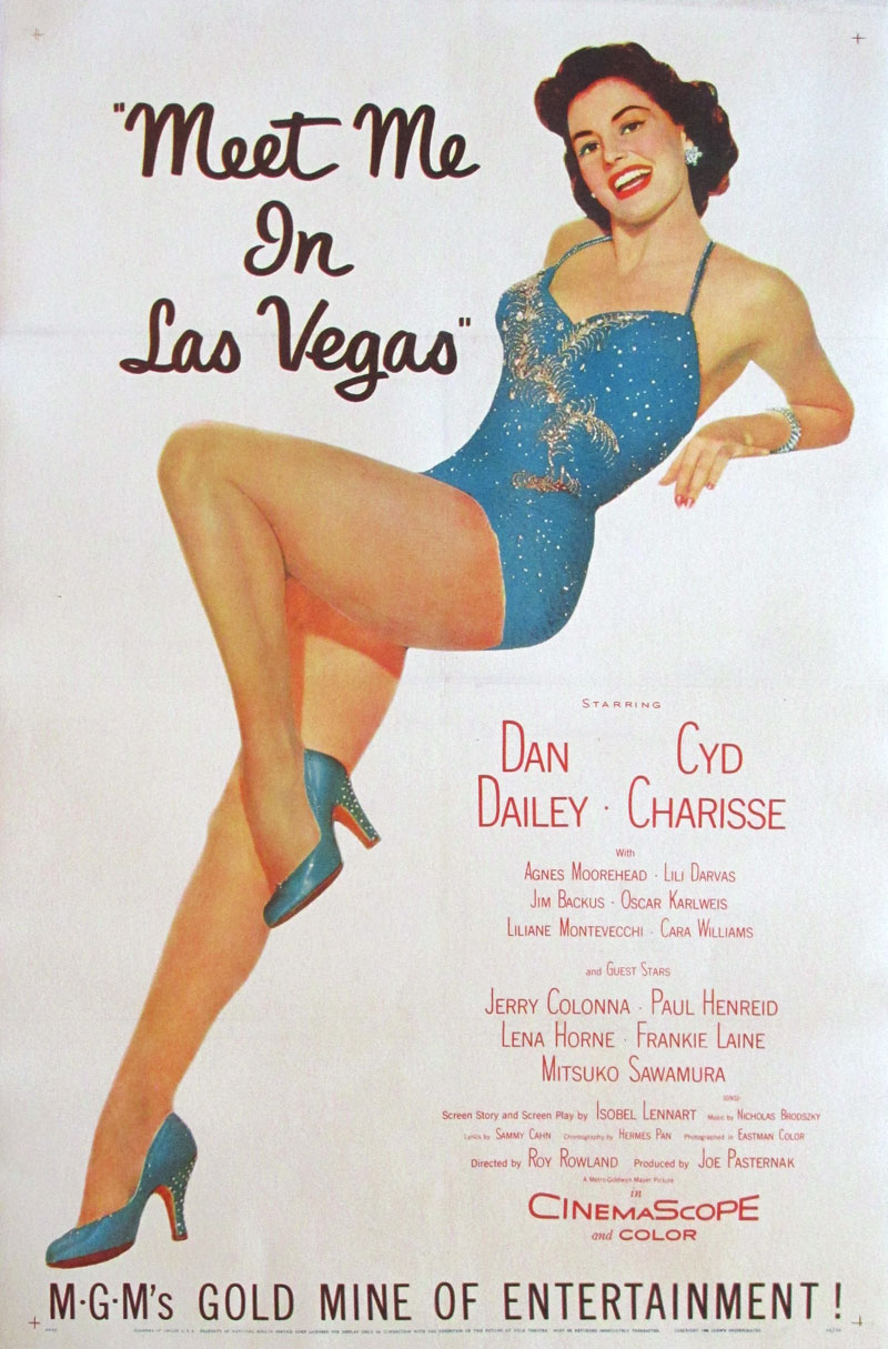 Image of Meet Me In Las Vegas - Movie poster - FF00021