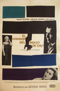 Image of The Man With the Golden Arm - Argentine movie poster - FF00022