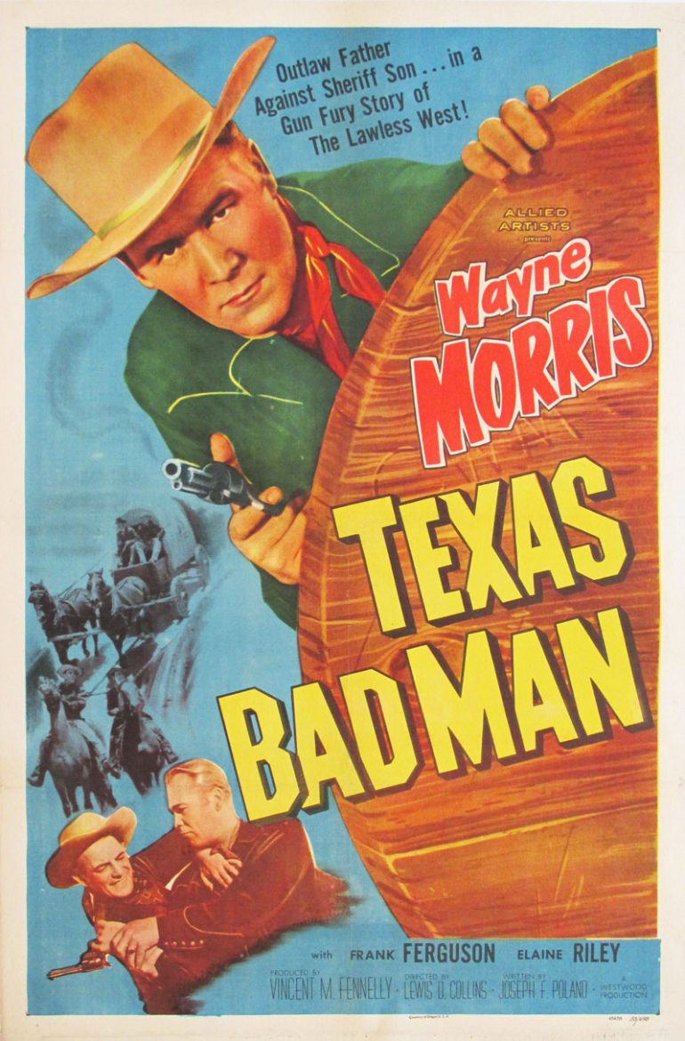 Image of Texas Bad Man - U.S. movie poster - FF00024