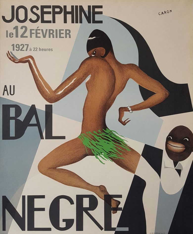 Image of Bal Negre - Vintage Poster - Josephine Baker - TF00001