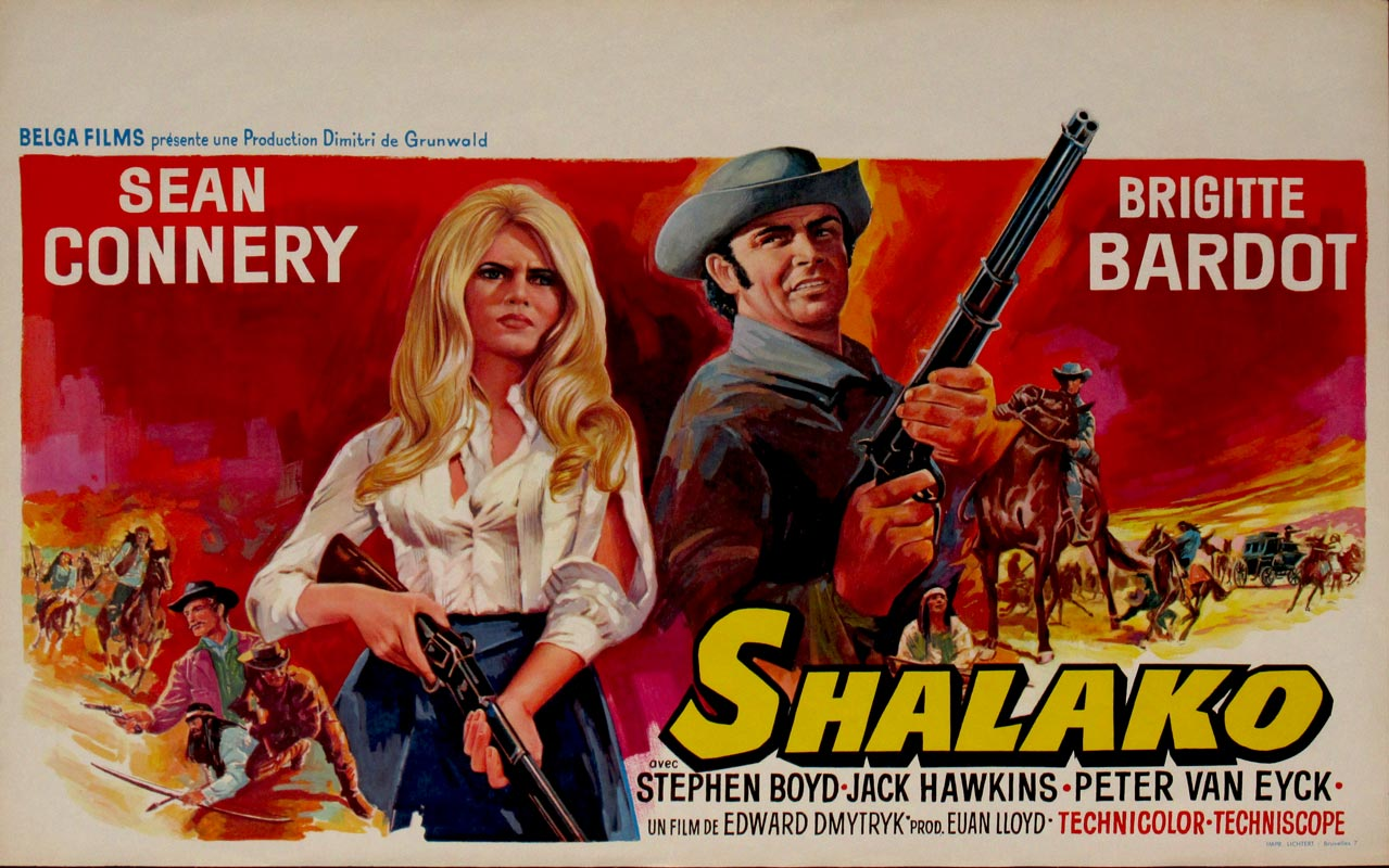 Image result for connery and bardot in shalako